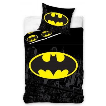 Batman Sengetøj 140 x 200, 100 procent bomuld