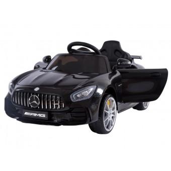 Mercedes GTR AMG til Børn 12V m/2.4G fjernbetjening og Gummihjul