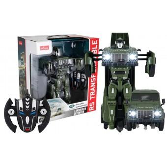 Land Rover Defender Transform Robot Bil 2.4G 1:14