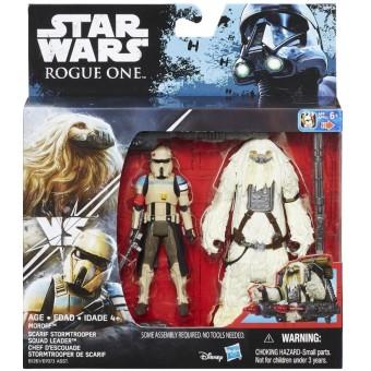Star Wars R1 Twin Moroff & Scarif Stormtrooper figurer 9,5cm
