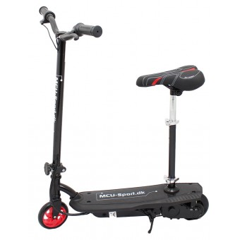 MCU-Sport EL-Løbehjul med sæde - Sort 120W 24V