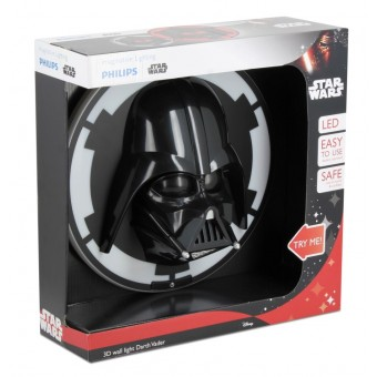 Phillips Star Wars Darth Vader 3D Lampe