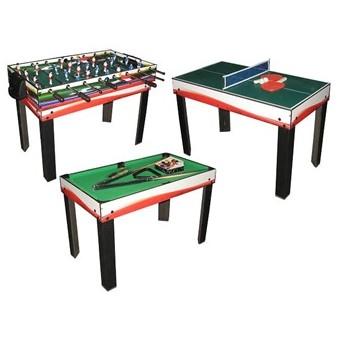 MegaLeg Multibord 3i1 (Fodbold/Pool/Bordtennis)