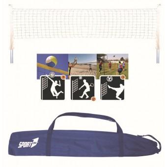 Multisport sæt PRO (Volley, Beach Tennis, Badminton, tennis fodbold)