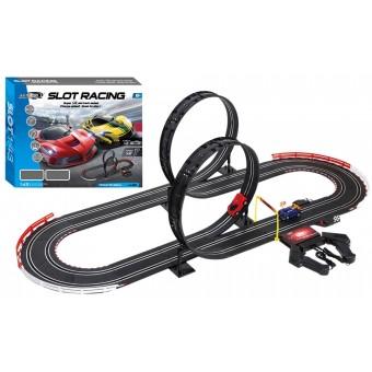 JJ Slot Racerbane m/loops 555 cm 1:43