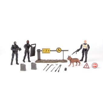 S.W.A.T. Action Figur 3-pack Type B 1:18