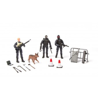 S.W.A.T. Action Figur 3-pack Type A 1:18