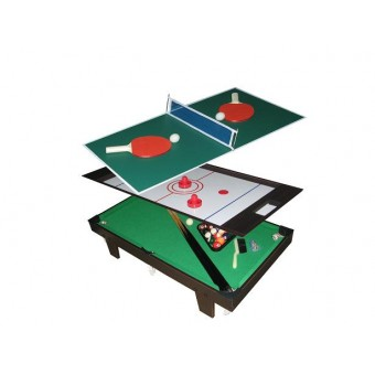 MegaLeg 3i1 Mini Bordtennis / Pool / Hockey bord