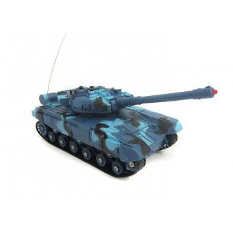 Fjernstyret IR 40MHz Battle Tank, Blå
