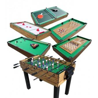 MegaLeg Multibord 9i1 (Fodbold / Pool / Hockey / Tennis m.v.)