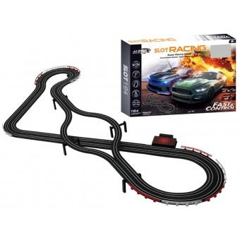 Fast & Control Racerbane til børn 530cm 1:64