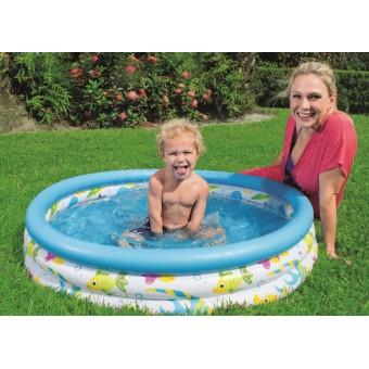 Badebassin 102x25 cm 'Koral Børne pool'