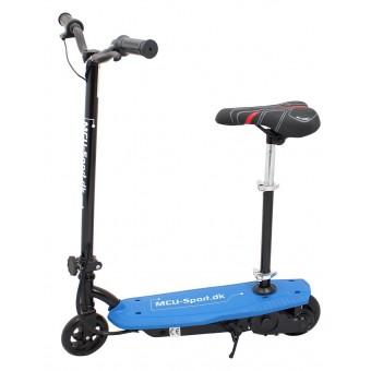 MCU-Sport EL-Løbehjul med sæde - Blå 120W 24V