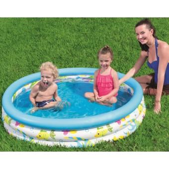 Badebassin 122x25 cm 'Koral Børne pool'
