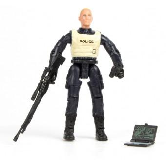 S.W.A.T. Action Figur Model C 1:18