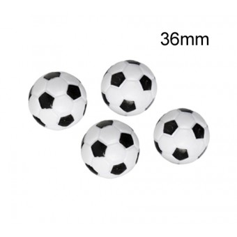 MegaLeg Bordfodbold 36mm Bolde, 4stk.