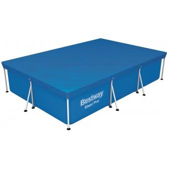 Bestway Steel Pro Frame Pools overdækning 300 x 201 cm