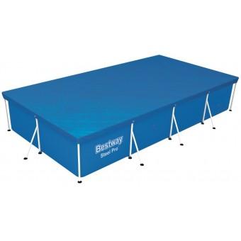 Bestway Steel Pro Frame Pools overdækning 400 x 211 cm