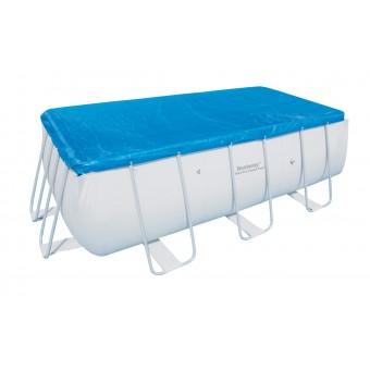 Bestway Frame Pool overdækning 404x201x100 cm+412x201x122cm
