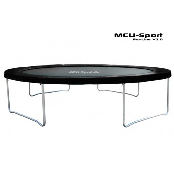 MCU-Sport Pro-line 3,7m Sort Trampolin V3.0