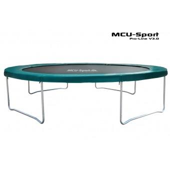 MCU-Sport Pro-line 4,3m Grøn Trampolin V3.0