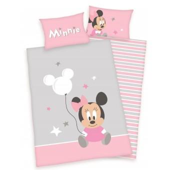 Minnie Mouse Junior Sengetøj 100x135 cm - 100 procent bomuld