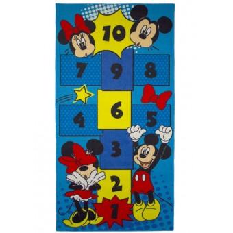 Disney Mickey & Minnie Hinke Tæppe til børn 160x80