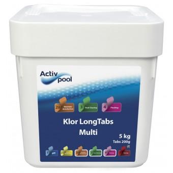 ActivPool Multi Klor 4-1 LongTabs 200g 5kg