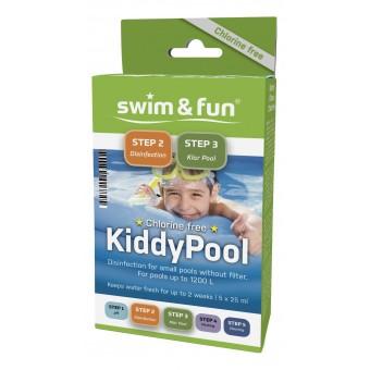 Kiddy Pool klorfri vandpleje til soppebassin