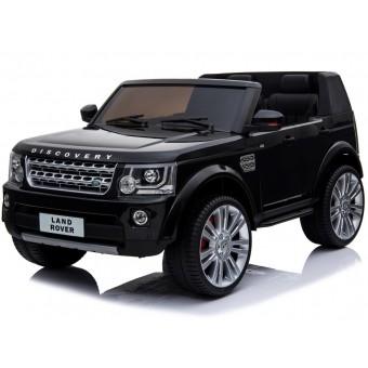 Land Rover Discovery 12v m/Gummihjul + Lædersæde + 10AH