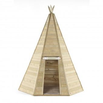Plum Stort Tipi Træ Legehus til børn