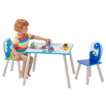 Dinosaur bord med stole