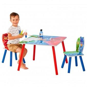Pyjamasheltene / PJ Mask bord med stole