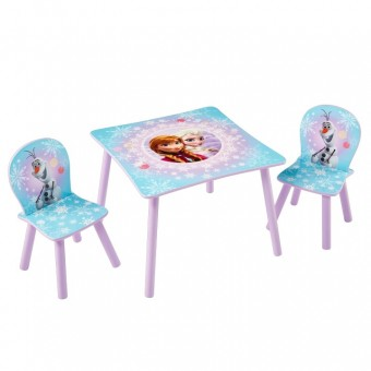 Disney Frost Anna og Elsa bord med stole