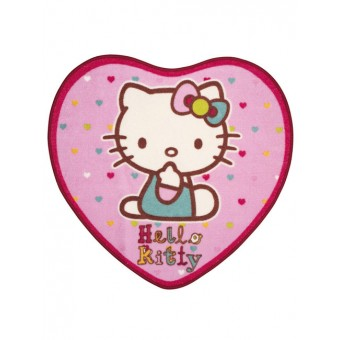 Hello Kitty Gulvtæppe 76 x 73 cm