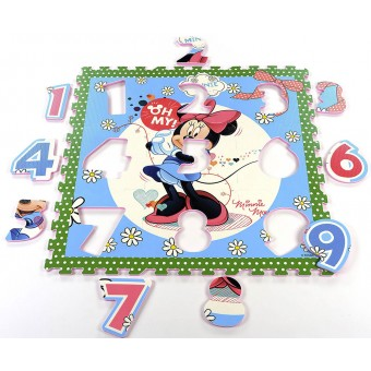Disney Minnie Mouse skum gulv til børn