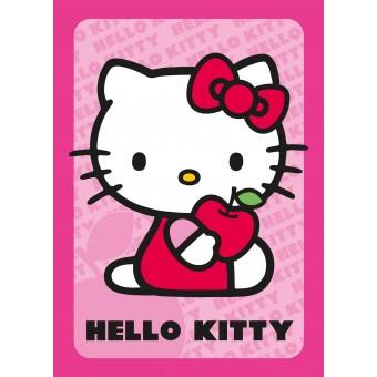 Hello Kitty tæppe 133x95