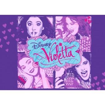Disney Violetta Tæppe til børn 01 - 95 x 133 cm