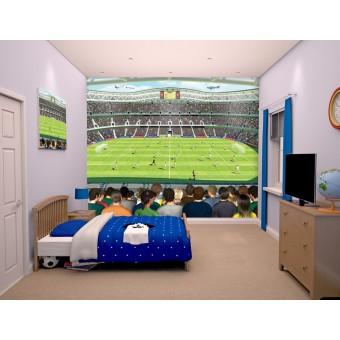 Fodbold Crazy tapet 243 x 305 cm