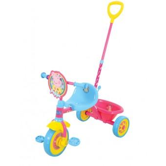 Gurli Gris min første 3-hjulet cykel
