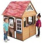 Flotte trælegehuse til børn